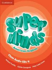 Super Minds American English Level 4 Class Audio CDs (4)