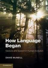 How Language Began: Gesture and Speech in Human Evolution