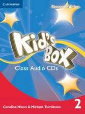 Kid's Box Level 2 Class Audio CDs (4)