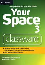 Your Space Level 3 Classware DVD-ROM with Teacher's Resource Disc