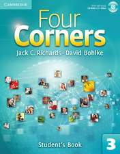 Four Corners Level 3 Student's Book with Self-study CD-ROM and Online Workbook Pack