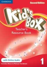 Kid's Box Level 1 Teacher's Resource Book with Online Audio