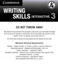 Grammar and Beyond Level 3 Writing Skills Interactive (Standalone for Students) via Activation Code Card