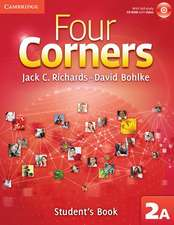 Four Corners Level 2 Student's Book A with Self-study CD-ROM and Online Workbook A Pack