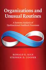 Organizations and Unusual Routines: A Systems Analysis of Dysfunctional Feedback Processes