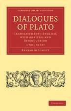Dialogues of Plato 4 Volume Paperback Set: Translated into English, with Analyses and Introduction