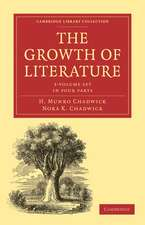 The Growth of Literature 3 Volume Paperback Set