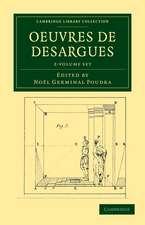 Oeuvres de Desargues 2 Volume Set