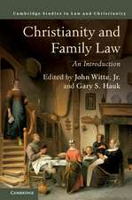 Christianity and Family Law: An Introduction