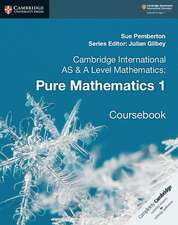 Cambridge International AS & A Level Mathematics: Pure Mathematics 1 Coursebook