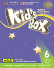 Kid's Box Updated Level 6 Activity Book with Online Resources Hong Kong Edition