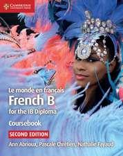Le monde en français Coursebook