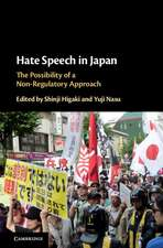 Hate Speech in Japan: The Possibility of a Non-Regulatory Approach