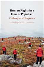 Human Rights in a Time of Populism: Challenges and Responses