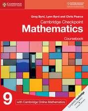 Cambridge Checkpoint Mathematics Coursebook 9 with Cambridge Online Mathematics (1 Year)