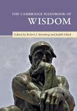 The Cambridge Handbook of Wisdom