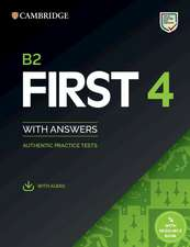 B2 First 4 Student's Book with Answers with Audio with Resource Bank