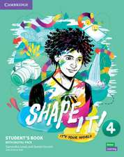 Shape It! Level 4 Student's Book with Practice Extra