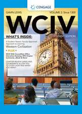 WCIV, Volume 2:  Since 1300 [With Flash Cards and Access Code]
