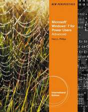 New Perspectives on Microsoft¿ Windows 7 for Power Users Advanced, International Edition