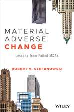 Material Adverse Change