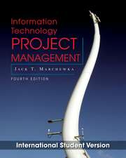 Information Technology Project Management: with CD–ROM