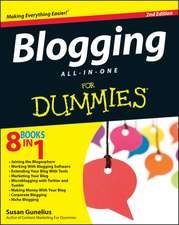 Blogging All–in–One For Dummies