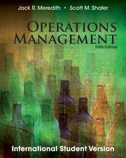 Operations Management, Fifth Edition