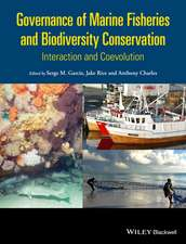 Governance of Marine Fisheries and Biodiversity Conservation: Interaction and Co–evolution