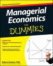 Managerial Economics For Dummies