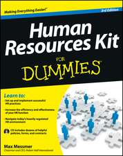Human Resources Kit For Dummies