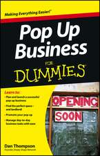 Pop–Up Business For Dummies