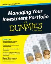 Managing Your Investment Portfolio For Dummies – UK