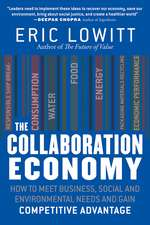 The Collaboration Economy: How to Meet Business, Social, and Environmental Needs and Gain Competitive Advantage