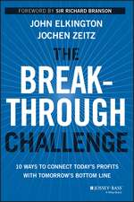 The Breakthrough Challenge: 10 Ways to Connect Today′s Profits With Tomorrow′s Bottom Line