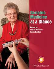 Geriatric Medicine at a Glance
