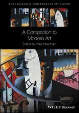 A Companion to Modern Art
