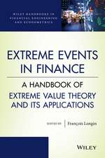 Extreme Events in Finance: A Handbook of Extreme Value Theory and its Applications