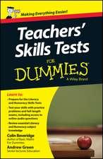 Teacher′s Skills Tests For Dummies