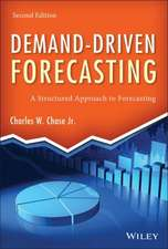 Demand–Driven Forecasting: A Structured Approach to Forecasting
