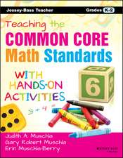 Teaching the Common Core Math Standards with Hands–On Activities, Grades K–2
