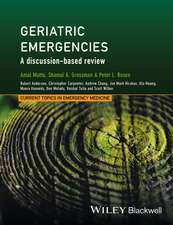 Geriatric Emergencies: A Discussion–based Review