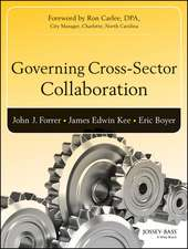 Governing Cross–Sector Collaboration