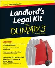 Landlord′s Legal Kit For Dummies