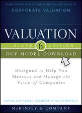 Valuation DCF Model, Flatpack: Designed to Help You Measure and Manage the Value of Companies