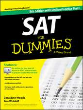 SAT For Dummies: Book + 4 Practice Tests Online