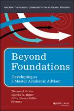 Beyond Foundations: Developing as a Master Academic Advisor