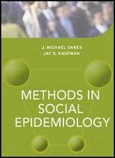 Methods in Social Epidemiology