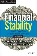 Financial Stability: Fraud, Confidence and the Wealth of Nations + Website