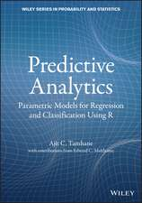 Regression for Predictive Analytics: Parametric and Nonparametric Regression